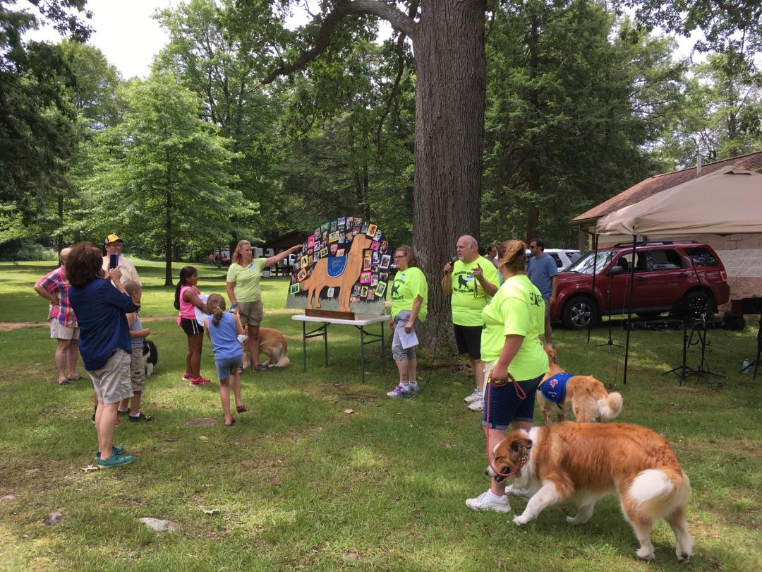 Pet therapy day is a big success and new pet therapists sought contact christine fogle of golden girls pet therapy to find out more about how you can get your dog certified 1betcityfo Image collections