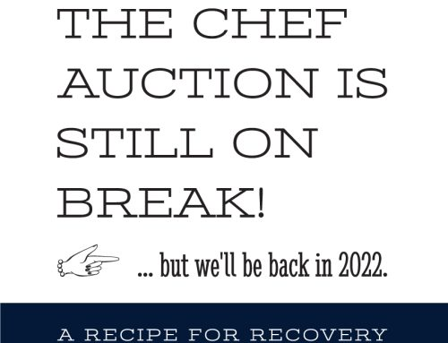 Chef Auction to resume in 2022