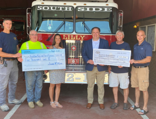 1889 collaborates with Rep. Frank Burns to support four local projects